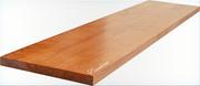Подступенок деревянный для лестницы